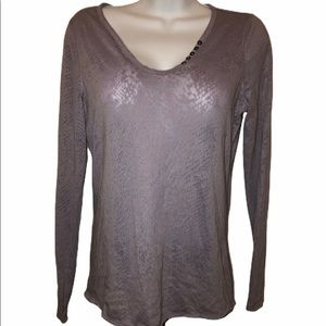 3/$25 Rock & Republic Small Purple Long Sleeve Top